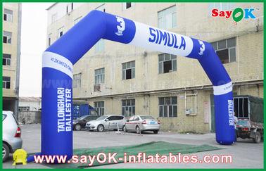 China Arco inflable del acontecimiento al aire libre del PVC, arco inflable del final de Finsh de los deportes proveedor