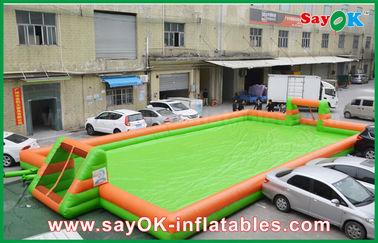 China 0,55 campos portátiles del campo de fútbol/de fútbol de los juegos inflables de los deportes del PVC proveedor