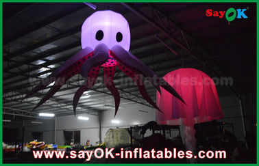 China Pulpo inflable cambiable de la etapa del color LED para el partido y la boda proveedor