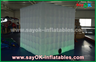 China Caso inflable los 2.5x2.5m de la cabina de la foto del RGB LED o Customzied proveedor