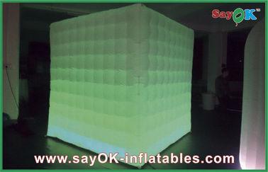 China LED que enciende la cabina portátil inflable de la foto para las decoraciones del día de fiesta proveedor