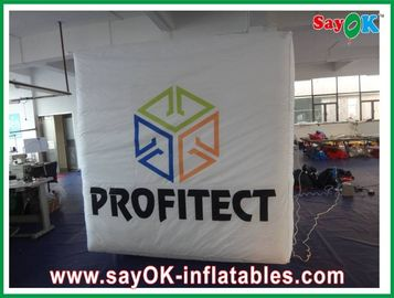 Party Oxford Cloth Custom Inflatable Products , Advertsing Inflatable Cube