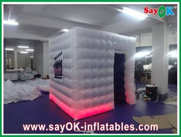 Square Inflatable Photobooth With Company Logo For Photography