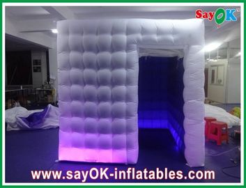 UL Blower Inflatable Photo Booth , 2.4 x 2.4 x 2.5m Inflatable Photo Tent