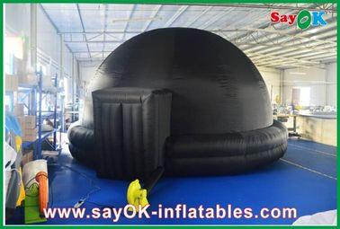 China Planetario inflable negro, cine inflable durable del móvil de la tienda de la proyección proveedor