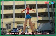 China Bailarines rojos del aire de la publicidad de la historieta que imprimen los 5m atractivos altos para el supermercado fábrica