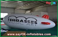 China avión de aire inflable del zepelín del helio del globo los 5m del helio del logotipo de encargo del PVC de 0.2m m fábrica