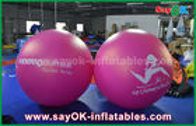 China Globo inflable inflable rojo del helio de la publicidad al aire libre del globo del PVC del diámetro del gigante los 2m fábrica