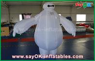 China Traje inflable de la mascota de Baymax/robot inflable Baymax para el parque de atracciones de los niños fábrica