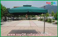 China venta entera al aire libre promocional del parasol de playa del jardín del poliéster 190T fábrica