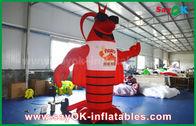 China Langosta inflable roja grande para hacer publicidad de la decoración/del modelo artificial gigante de la langosta fábrica