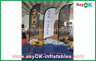 China Tienda plegable de aire de la bandera inflable portátil del cuchillo para la promoción/la publicidad fábrica