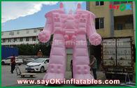 China Robot inflable rosado del paño/PVC de Oxford para los productos exteriores de la publicidad fábrica