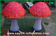China Seta roja del paño de Oxford de los productos inflables de encargo con el ventilador incorporado fábrica