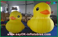 China Pato inflable amarillo grande precioso de la historieta de la promoción con la impresión modificada para requisitos particulares del logotipo fábrica