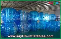 China Juegos inflables durables de los deportes/bola inflable transparente de la burbuja del PVC TPU fábrica