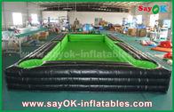 China Fútbol de la lona exterior gigante portátil del PVC/pista de tenis inflables de la tabla con el ventilador del CE fábrica
