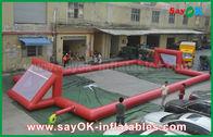 China Campo de fútbol inflable de la lona del PVC del gigante 0.5m m, campo de fútbol inflable portátil fábrica