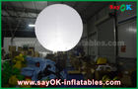 China Decoración inflable para hacer publicidad, globo de la iluminación del diámetro de la aduana el 1.5m del soporte con el trípode fábrica