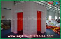 China LED que enciende la cabina inflable de la foto con 2 puertas/la tienda inflable fábrica