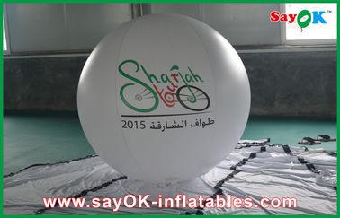 Globos inflables modificados para requisitos particulares de la publicidad del helio gigante del PVC para el partido