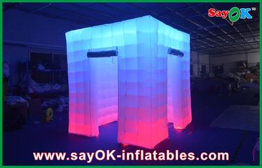 cabina llevada inflable grande de la foto de los 2.4x2.4x2.5m que se casa cabinas inflables