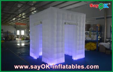 Portable inflable de la tienda del cubo de la foto de la cabina del recinto inflable blanco de encargo de Shell