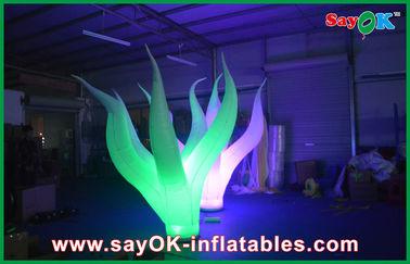 Decoración inflable durable llevada 3M de la iluminación atractivo en piso