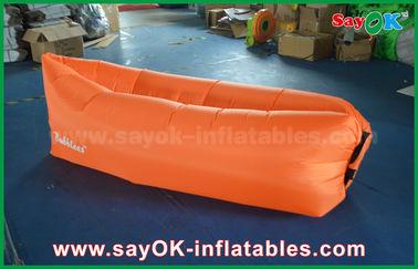 Bolso inflable 1.2kg del salón de la lugar frecuentada del sofá del aire del paño de nylon impermeable de 3 estaciones