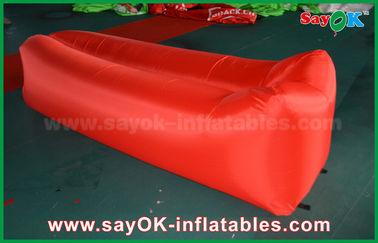 El airbag ligero el dormir del paño de nylon surge la playa del sofá del aire del sofá inflable