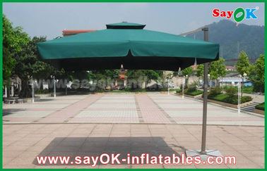 venta entera al aire libre promocional del parasol de playa del jardín del poliéster 190T