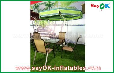 Vare el material voladizo del nilón del paraguas 190T del patio de Sun del jardín al aire libre