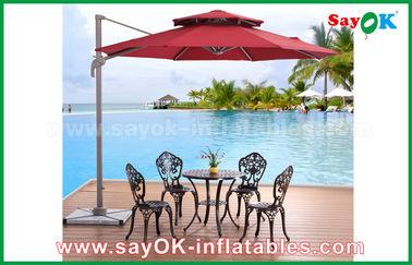 Parasol de playa al aire libre plegable resistente ULTRAVIOLETA de Sun, parasol chino del jardín