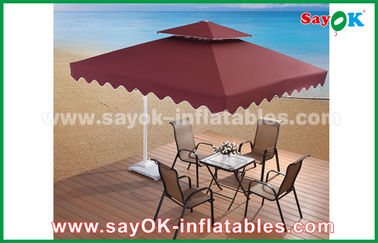 paraguas publicitario del patio del jardín de la playa del paraguas de 2,5 * de los 2.5M Sun