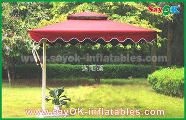 Plátano de encargo de la impresión los 300cm que cuelga el parasol de playa de Sun para el jardín al aire libre