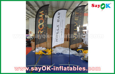 Tienda plegable de aire de la bandera inflable portátil del cuchillo para la promoción/la publicidad