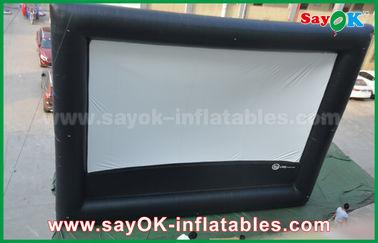 Cine inflable del aire, pantalla de cine inflable gigante al aire libre para hacer publicidad/diversión