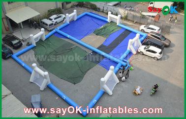 Patio inflable del fútbol de la lona durable, campo de fútbol inflable portátil