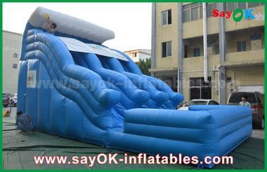 0,55 gorilas inflables Anti-ULTRAVIOLETA grande de la lona del PVC con la impresión del logotipo