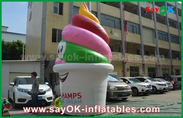 Productos inflables modificados para requisitos particulares gigante, helado inflable para hacer publicidad/promoción/partido
