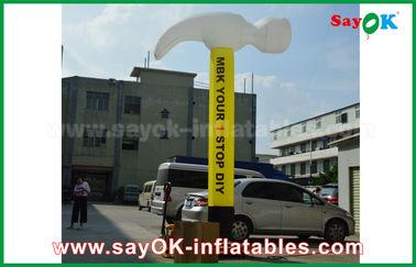 Bailarín inflable modificado para requisitos particulares del aire/hacha inflable para el anuncio