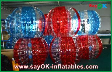 De la burbuja inflable del fútbol transparente del PVC/de TPU bola humana para el adulto/el niño