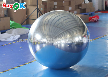 China Globo inflable modificado para requisitos particulares del PVC para la forma redonda de la decoración de la alameda fábrica