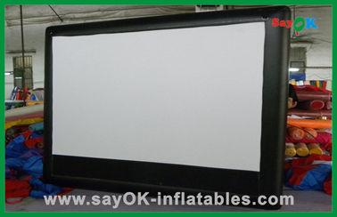 Pantalla de cine con pantalla grande inflable comercial de la pantalla inflable del cine