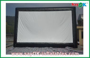 Pantalla de cine inflable del paño profesional, pantalla al aire libre inflable para los acontecimientos