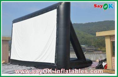 Certificado inflable del CE/SGS de la pantalla 6 x 3M del paño TV de la proyección