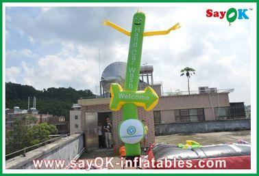 Logotipo que imprime las piernas inflables del gemelo del bailarín del cielo para la celebración del festival